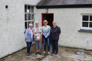 Preparing for the Open Day - Jennifer, Frances, Helen & Margaret.