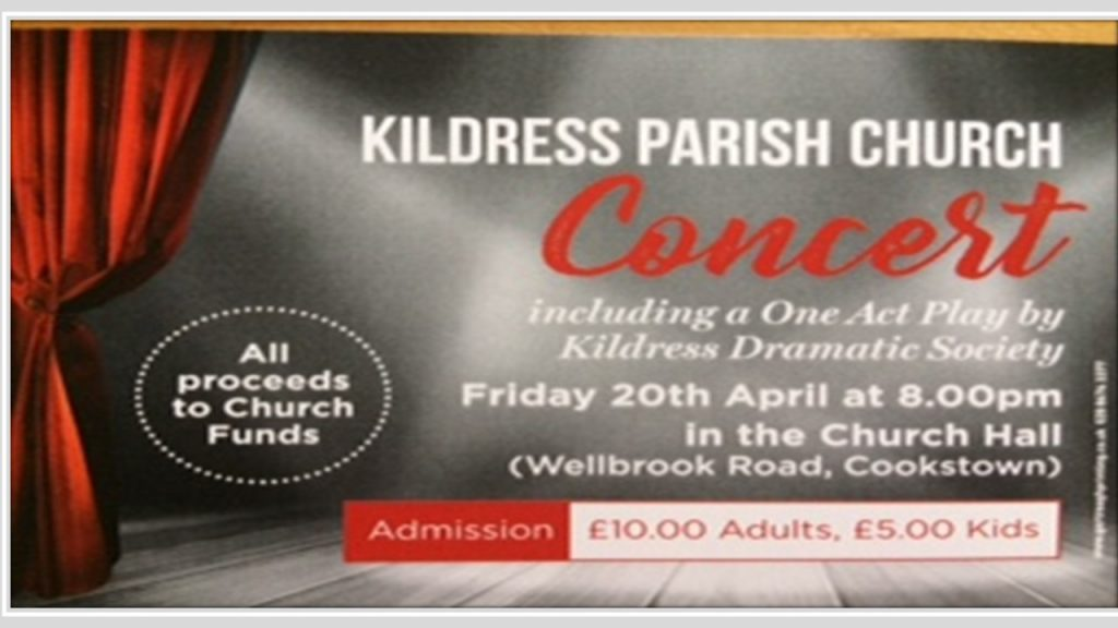 Friday 20th April Concert