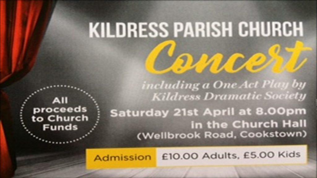 Saturday 21st April Concert