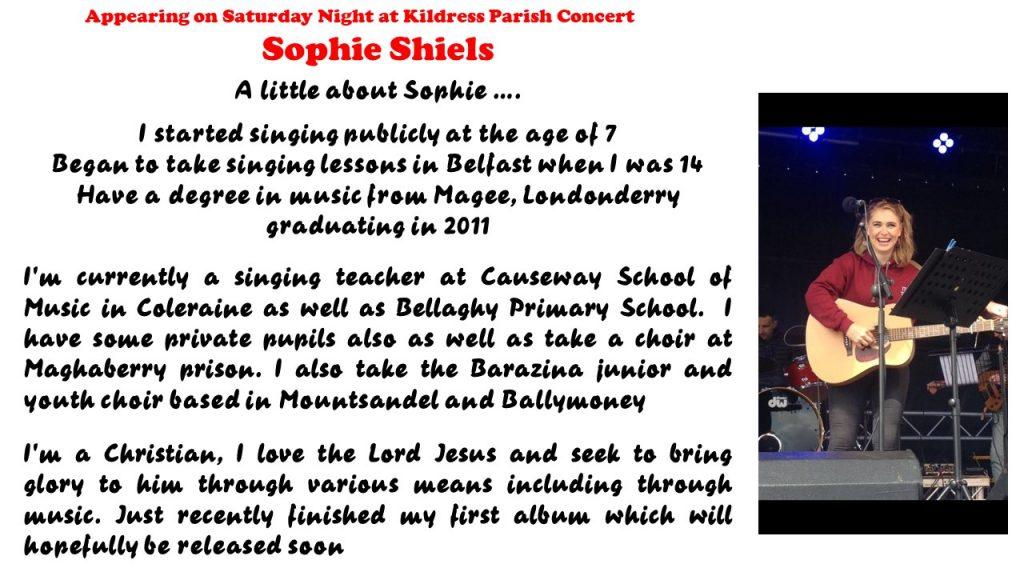 Sophie Shiels Advert
